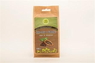 Какао-бобы сырые в горьком шоколаде ДарыПамира 100г