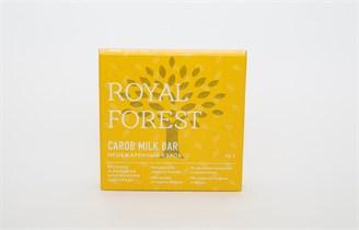 Шоколад из НЕобжаренного кэроба Royal Forest Carob Milk Bar 75 г.