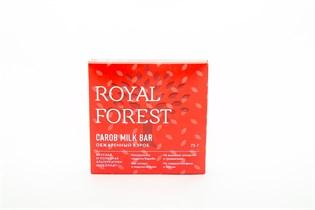 Шоколад из обжаренного кэроба Royal Forest Carob Milk Bar 75 г.