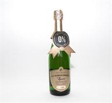 Шампанское безалкогольное Брют 0,75л.